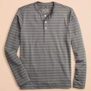 Brooks Brothers Striped Long-Sleeve Henley